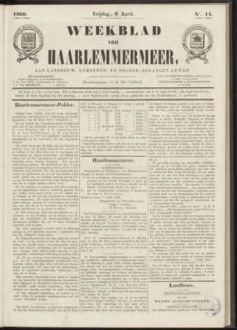Weekblad van Haarlemmermeer 1860-04-06