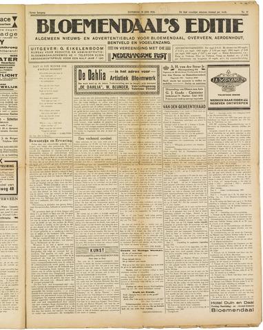 Bloemendaal's Editie 1926-06-19