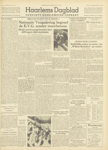 Haarlem's Dagblad 1954-08-31
