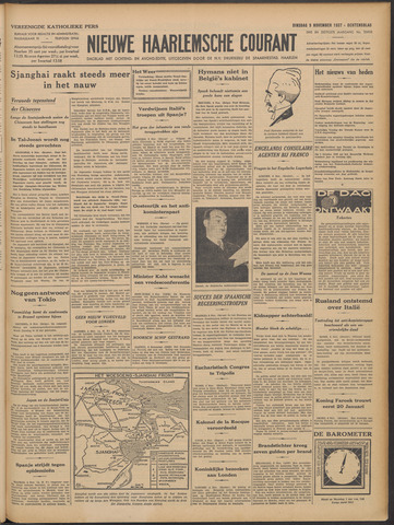 Nieuwe Haarlemsche Courant 1937-11-09
