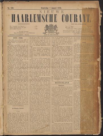 Nieuwe Haarlemsche Courant 1880