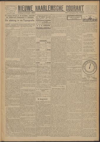 Nieuwe Haarlemsche Courant 1923-01-05