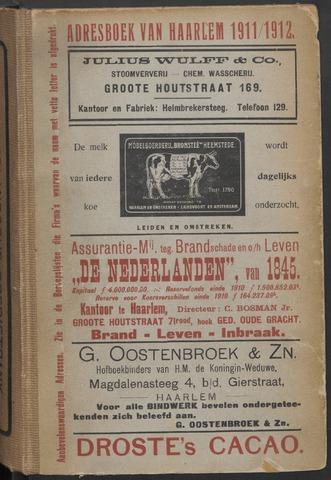 Adresboeken Haarlem 1911