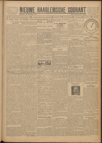 Nieuwe Haarlemsche Courant 1925-11-16