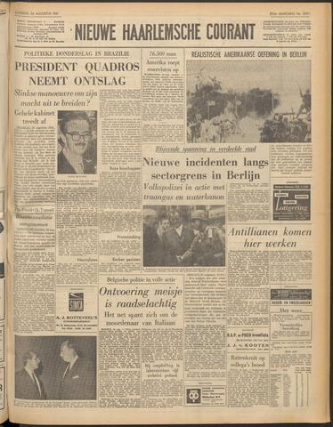Nieuwe Haarlemsche Courant 1961-08-26
