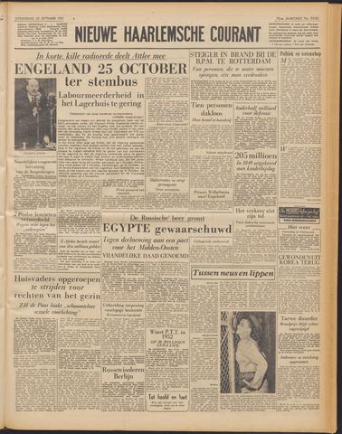 Nieuwe Haarlemsche Courant 1951-09-20