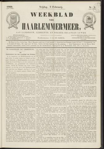 Weekblad van Haarlemmermeer 1860-02-03