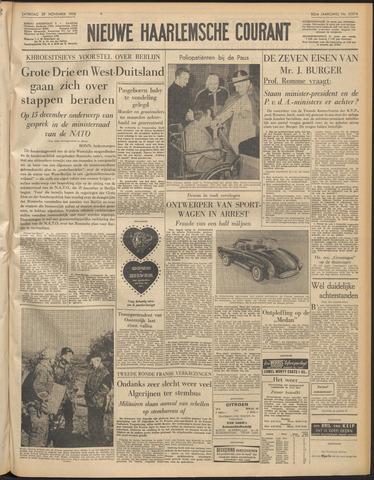 Nieuwe Haarlemsche Courant 1958-11-29