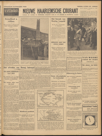 Nieuwe Haarlemsche Courant 1938-10-06