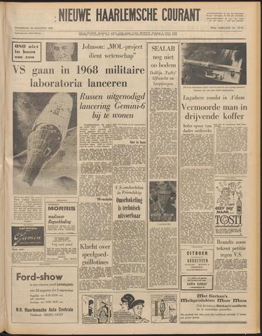 Nieuwe Haarlemsche Courant 1965-08-26