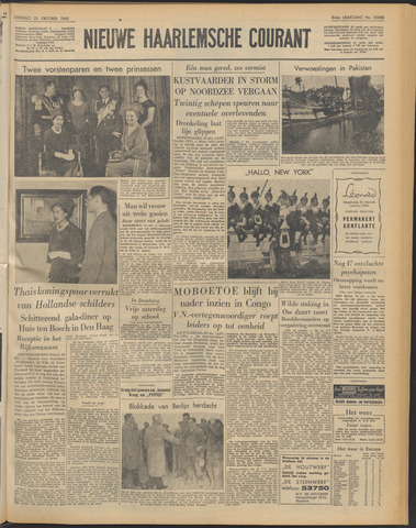 Nieuwe Haarlemsche Courant 1960-10-25