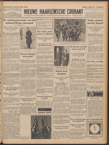 Nieuwe Haarlemsche Courant 1937-01-24