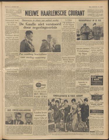 Nieuwe Haarlemsche Courant 1962-10-06
