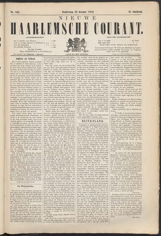 Nieuwe Haarlemsche Courant 1884-10-23