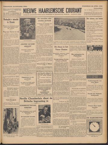 Nieuwe Haarlemsche Courant 1936-04-22