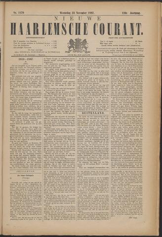 Nieuwe Haarlemsche Courant 1887-11-23