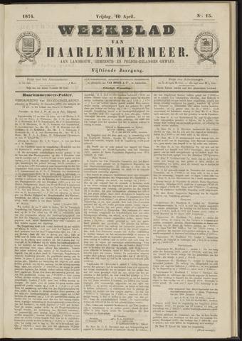 Weekblad van Haarlemmermeer 1874-04-10