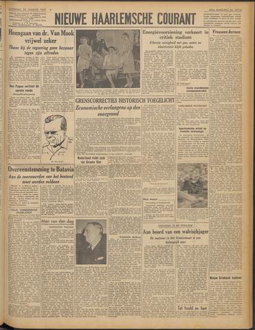 Nieuwe Haarlemsche Courant 1947-01-25