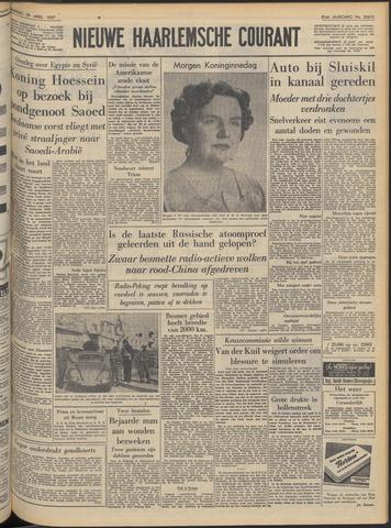 Nieuwe Haarlemsche Courant 1957-04-29