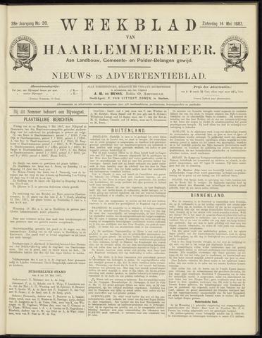 Weekblad van Haarlemmermeer 1887-05-14