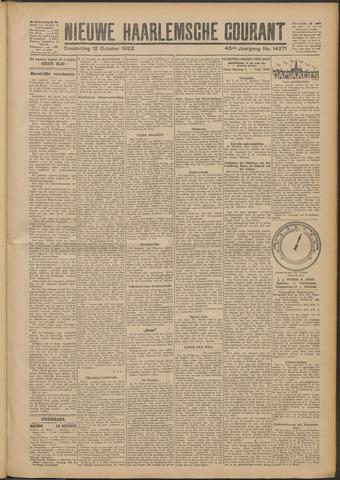 Nieuwe Haarlemsche Courant 1922-10-12