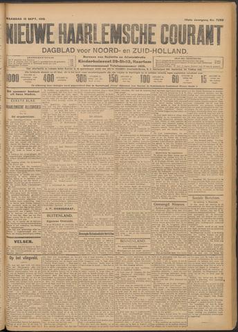 Nieuwe Haarlemsche Courant 1910-09-12
