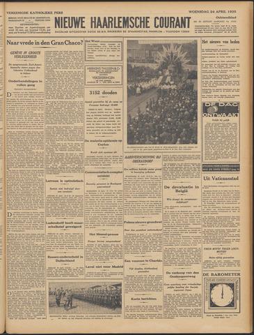 Nieuwe Haarlemsche Courant 1935-04-24