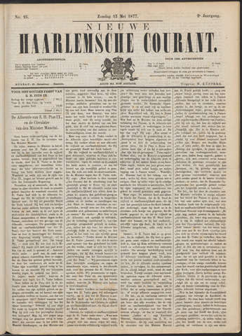 Nieuwe Haarlemsche Courant 1877-05-13