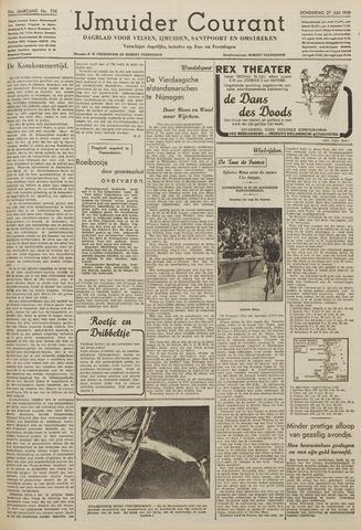IJmuider Courant 1939-07-27