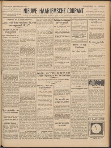 Nieuwe Haarlemsche Courant 1940-03-20