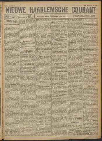 Nieuwe Haarlemsche Courant 1921-07-15