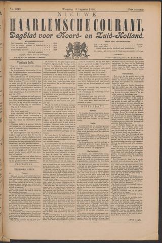 Nieuwe Haarlemsche Courant 1898-08-03