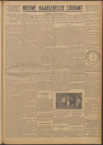 Nieuwe Haarlemsche Courant 1928-09-05