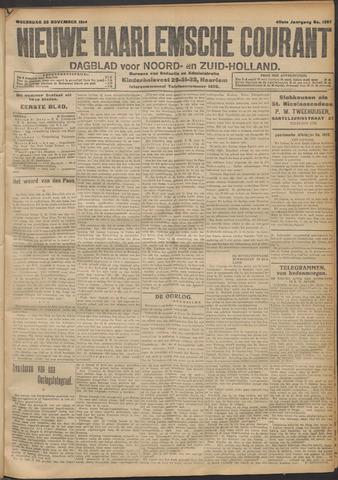 Nieuwe Haarlemsche Courant 1914-11-25