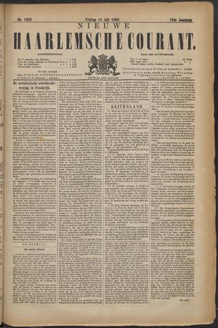 Nieuwe Haarlemsche Courant 1892-07-15