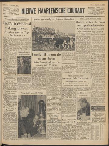 Nieuwe Haarlemsche Courant 1959-10-07