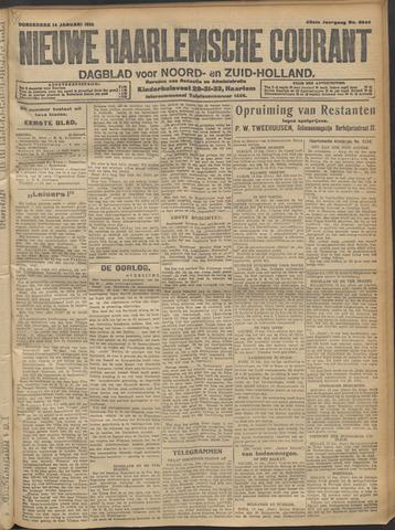 Nieuwe Haarlemsche Courant 1915-01-14