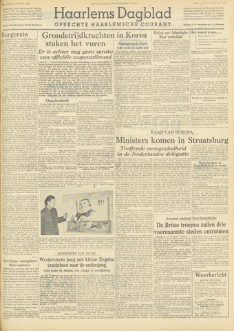 Haarlem's Dagblad 1951-11-29