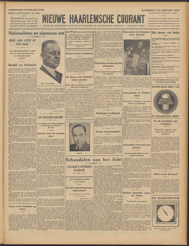 Nieuwe Haarlemsche Courant 1934-01-13