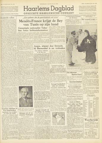 Haarlem's Dagblad 1954-08-03