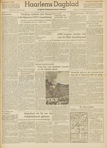 Haarlem's Dagblad 1950-09-30