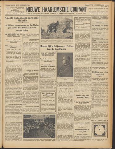 Nieuwe Haarlemsche Courant 1936-02-17