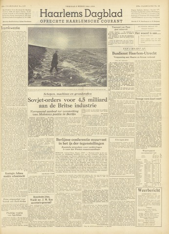 Haarlem's Dagblad 1954-02-05