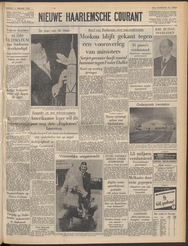 Nieuwe Haarlemsche Courant 1958-02-04