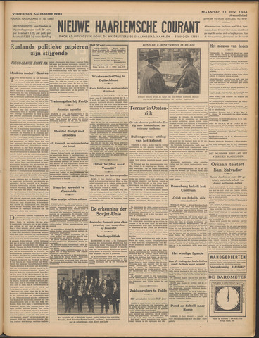 Nieuwe Haarlemsche Courant 1934-06-11