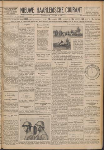 Nieuwe Haarlemsche Courant 1930-08-12