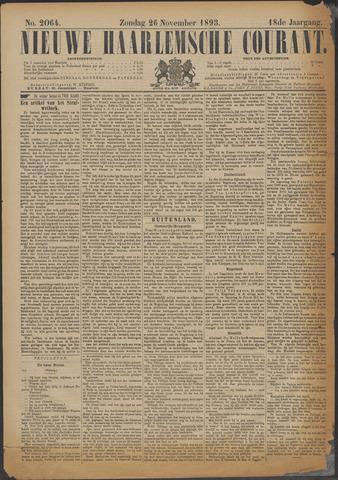 Nieuwe Haarlemsche Courant 1893-11-26