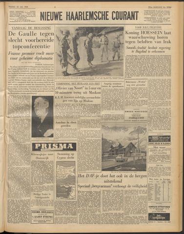 Nieuwe Haarlemsche Courant 1958-07-25
