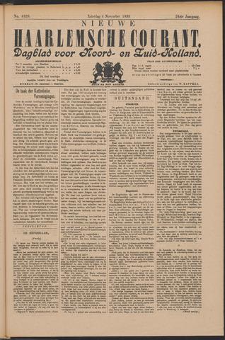 Nieuwe Haarlemsche Courant 1899-11-04