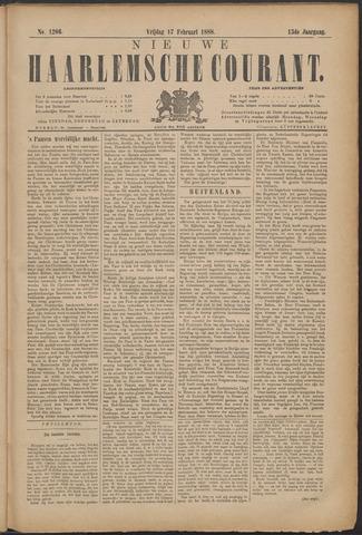 Nieuwe Haarlemsche Courant 1888-02-17